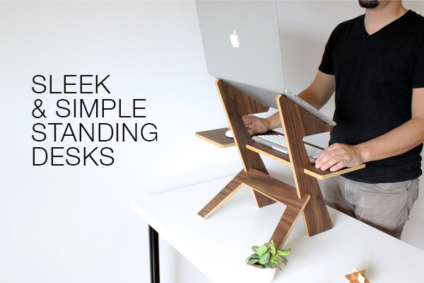 Sleek & Simple Standing Desks