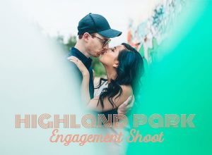 Highland Park, Los Angeles engagement shoot