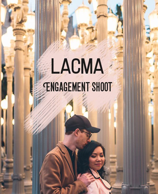 LACMA Engagement Shoot